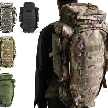 Outdoor Camo Tactical Backpack