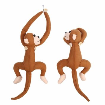 Unique Decor 1 Pair Baby Kid Cartoon Monky Nursery Bedroom Curtain Tieback Buckle Home Decoration