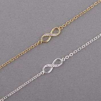 Bracelet for Women Infinity Number 8 Chain