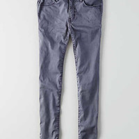 AEO Sateen X Jegging, Smoked Gray