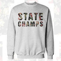 State Champs - Floral Champions Crewneck