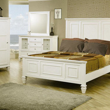 Dana Point Queen Size Panel Bed