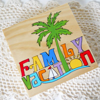 Family Vacation Cd Case, Cd Box, CD Storage, DVD Case