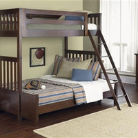 Abbott Ridge Twin Over Twin BunkBed Set