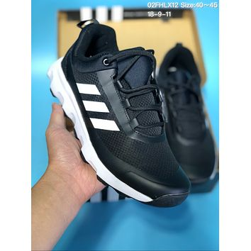 DCCK A245 Adidas Terrex Voyagerr Cw Cp Sports Casual Running Shoes Black White