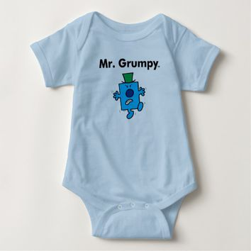 Mr. Men | Mr. Grumpy is a Grump Baby Bodysuit