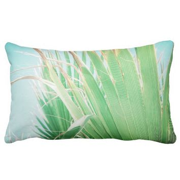 Palm Tree Summer Beach Vibes Cushion Pillow