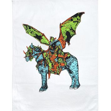 Winged Rider Tea Towel Banner (Limited Edition)