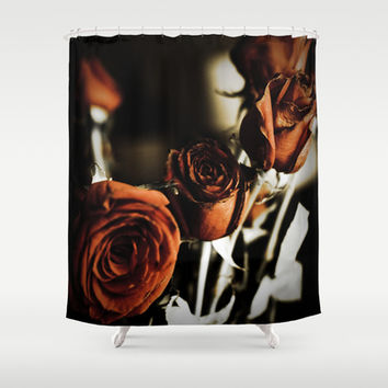 red roses Shower Curtain by Legends Of Darkness Photography