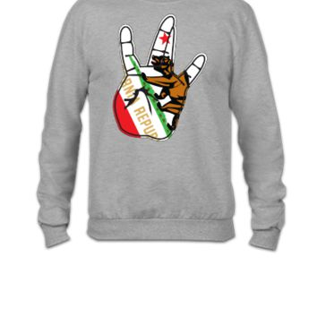 california hand - Crewneck Sweatshirt