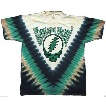 Mens Grateful Dead Countdown Tie Dye Tee