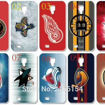 NHL Hockey team Logo Plastic Hard Cover For Samsung Galaxy S3 S4 S5 Mini S6 S7 Edge Plus Note 2 3 4 5 Mobile Cell Phone Case