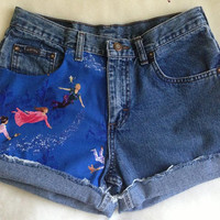 High Waisted Peter Pan Shorts