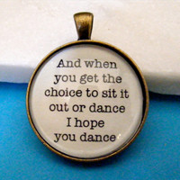 Lee Ann Womack Keychain, I Hope You Dance, Key Chain or Pendant