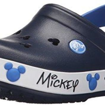 crocs Kids' Crocband Mickey Mouse IV Clog