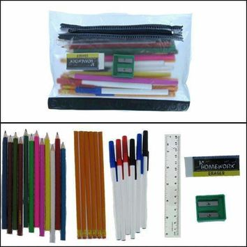 Writing Supplies Back To School Supplies Kits Case Pack 48
