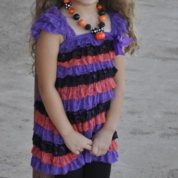 Halloween Petti Dress Toddler/Girls