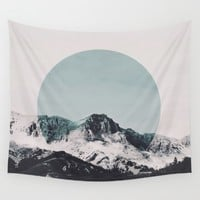 Climax Wall Tapestry by SUBLIMENATION