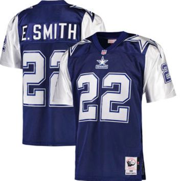 KUYOU Dallas Cowboys Jersey - Emmitt Smith Throwback Jerseys