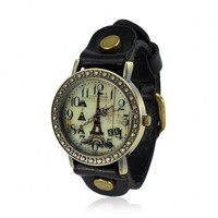 Vintage Eiffel Tower Watch by deniserose on Zibbet
