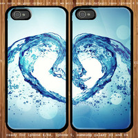 Abstract Love for couple case iphone 4/4s, iphone 5 and samsung Galaxy S3, samsung Galaxy S4