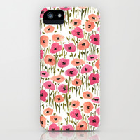 Poppies iPhone & iPod Case by Lucy Helena