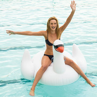 SUNNYLIFE Inflatable Swan | Toys & Novelties