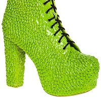 The Lita Drip Shoe in Green Slime (Exclusive)
