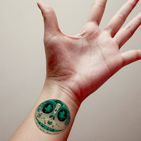 Nightmare Before Christmas Temporary Tattoo,Fashion Tattoo,Fake Tattoo