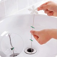 2pcs Shower Curtain Hair Catcher Stopper Clog Sink Bathroom Cleaning Filter Protector Filter Pipe Hook Strap free shipping
