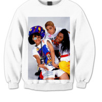 TLC SWEATSHIRT TLC MUSIC TLC VIDEO COOL SHIRTS HIPSTER CLOTHES BIRTHDAY GIFTS CHEAP SHIRTS TREND FASHIONS CELEBRITY SHIRTS GRAPHIC TEES CHEAP SHIRTS