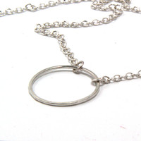 Sterling Silver Eternal Love  Necklace, Modern, Everyday