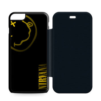 Nirvana Art Leather Wallet Flip Case iPhone 6 Plus | 6S Plus