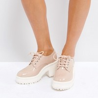 ASOS OFFICER Chunky Heels at asos.com