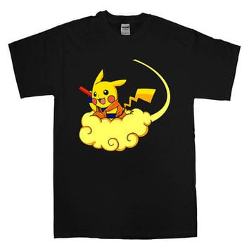 pokemon pikachu dragon ball For T-Shirt Unisex Adults size S-2XL