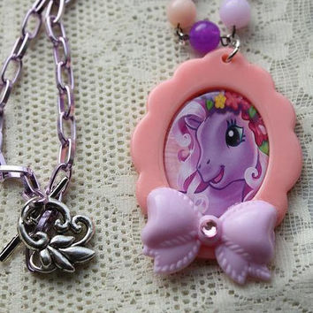 SALE - My Little Pony Necklace - Sherbert Dream