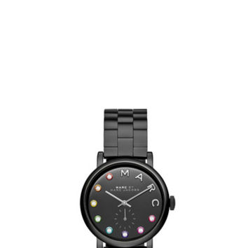 Marc Jacobs - Black IP Baker Dexter Bracelet 36MM