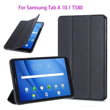 Super Slim Cover For Samsung Galaxy Tab A A6 10.1 2016 T580 T585 T580N SM-T580 Case Protege Tablet Original Ultra Leather Funda