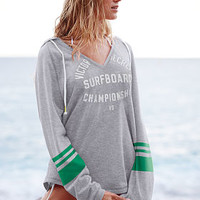 V-neck Hooded Tunic - Victoria's Secret