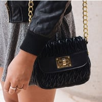 For the Thrill Purse - Black