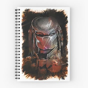 'Predator - The Hunt Is On' Spiral Notebook by Naumovski