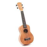21 inch 15 Frets Mahogany Soprano Ukulele Guitar Uke Sapele Rosewood 4 Strings Hawaiian Guitar for beginners or Basic players