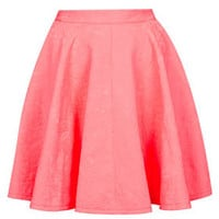 Jacquard Full Swing Skirt