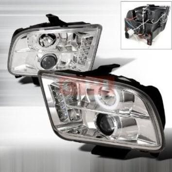 FORD 05-09 FORD MUSTANG CCFL PROJECTOR HEADLIGHT performance conversion kit 1 SET RH