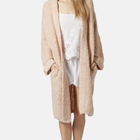 Women's Topshop 'Polly' Oversize Boucle Robe,