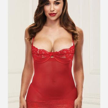 Paint the Town Red Chemise