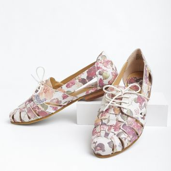 Jingle Floral Flats By Latigo | Ruche
