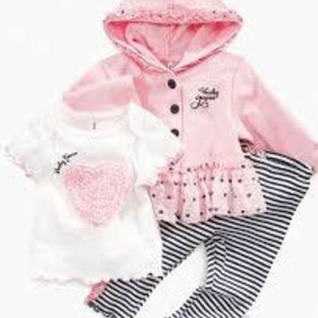 ac NOVQ2A baby girl 2 piece guess