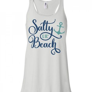 Salty Lil Beach Tank Top For Women
