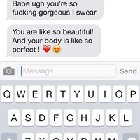 ugh he makes me smile so much 😭😊❤️